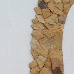 piedra irregular páred colombiana