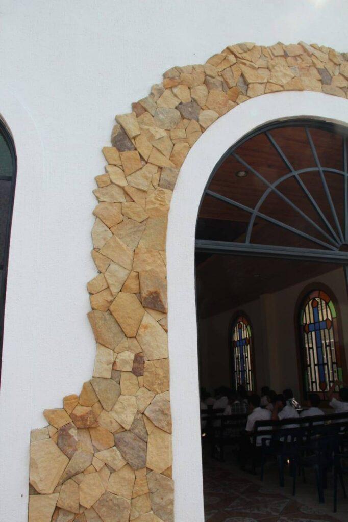 piedra laja pared