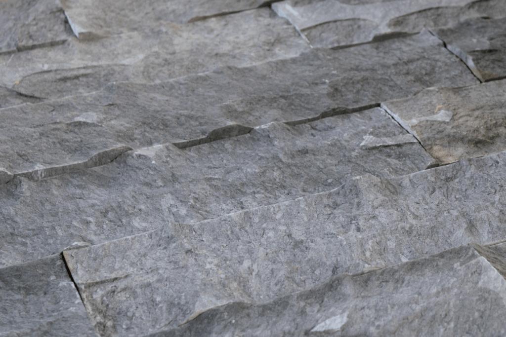 piedra natural color gris para muros