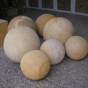 esferas en piedra natural Colombia
