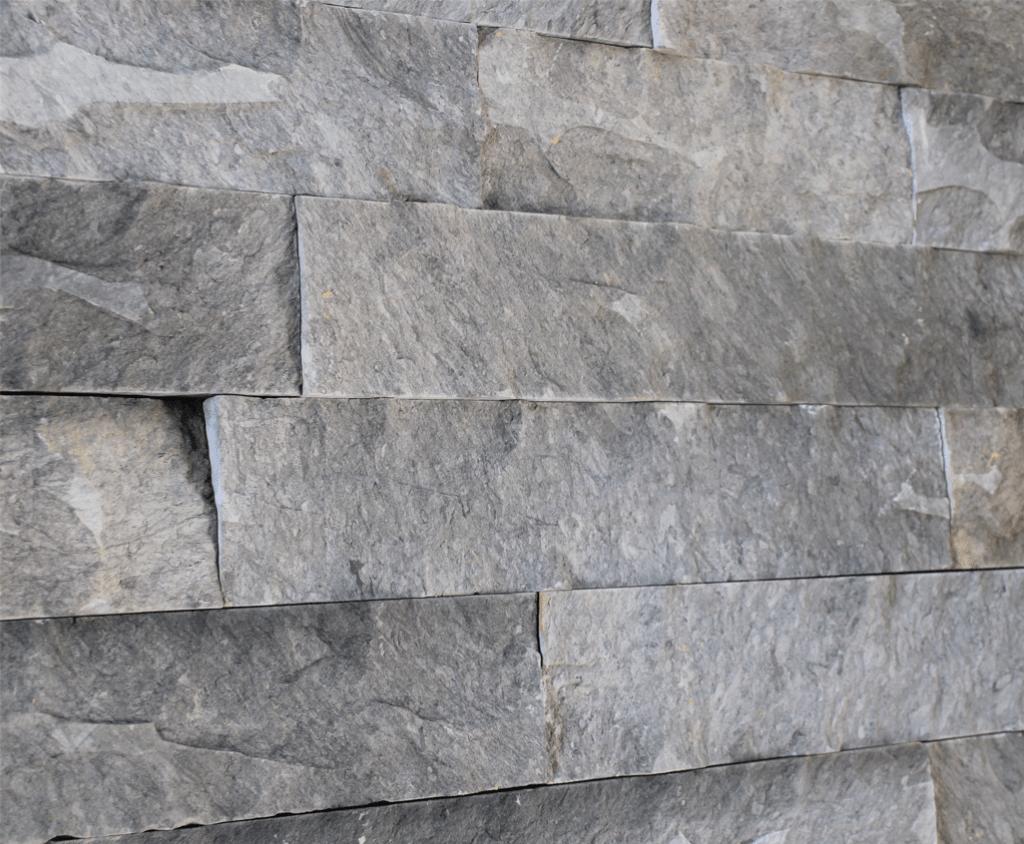 piedra rustica de muro gris