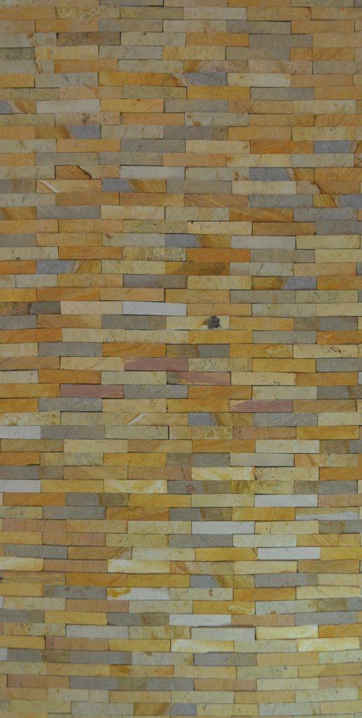 panel de piedra natural pared