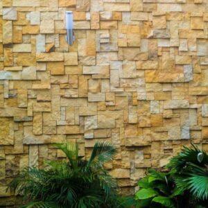 enchape de piedra en paneles para paredes