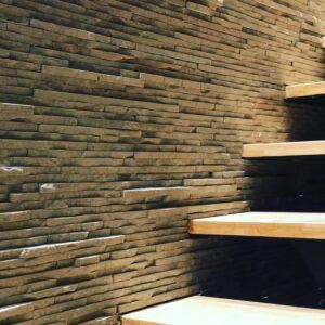 piedra rustica sala interior